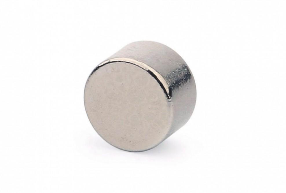 Неодимовый магнит диск 8х5 мм в Барнауле