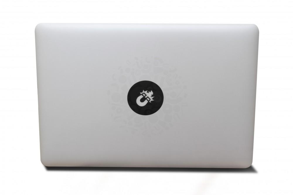 Наклейка для ноутбука, магнит (черная) в Воронеже