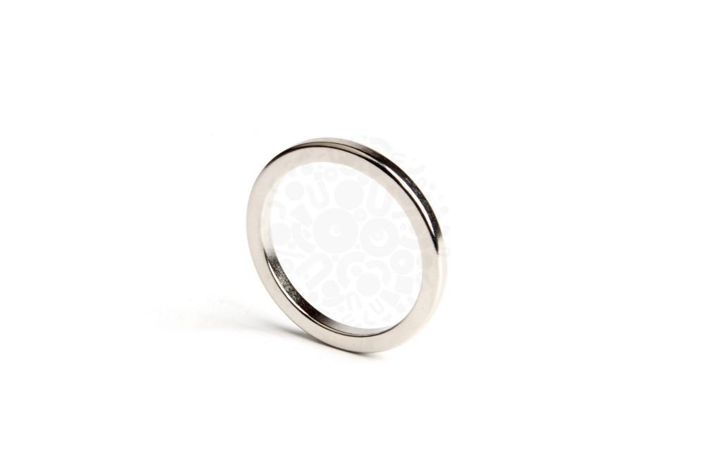 Неодимовый магнит кольцо 34х27,6х3 мм, N33