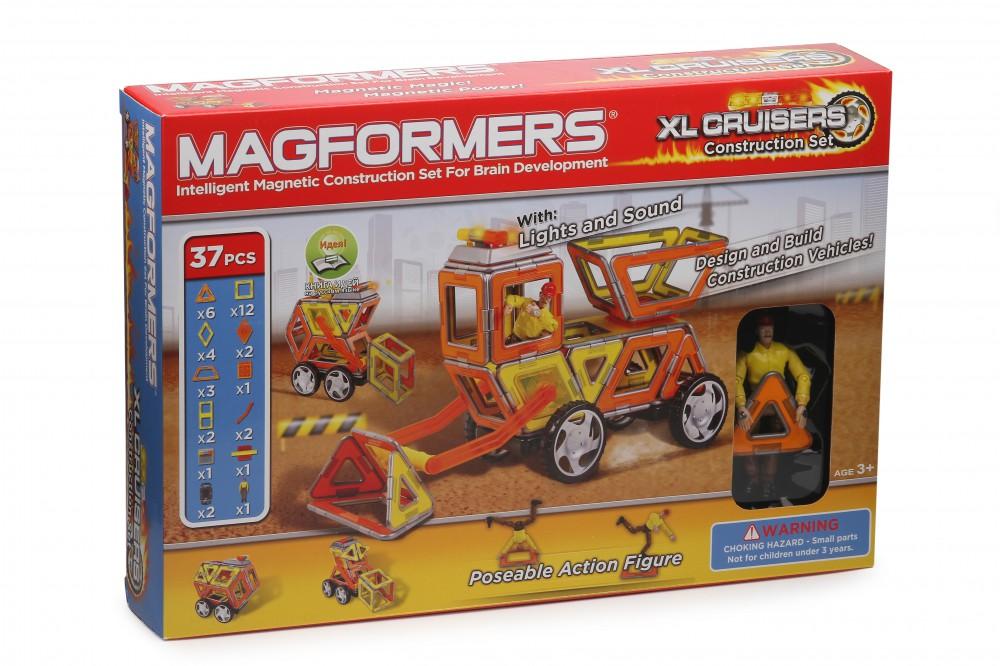 Конструктор Magformers XL Cruisers Строители в Астрахани