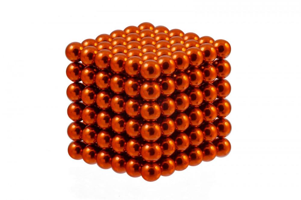 Forceberg Cube - куб из магнитных шариков 6 мм, оранжевый, 216 элементов в Барнауле