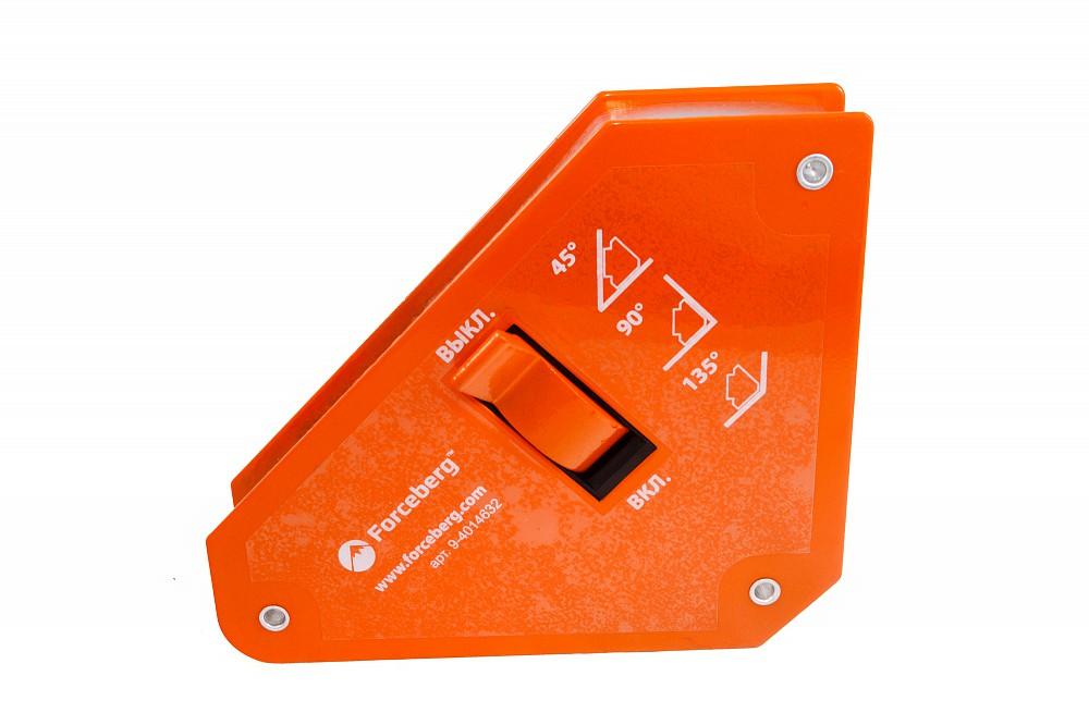 Магнитный уголок для сварки отключаемый для 3-х углов Forceberg, усилие до 24 кг в Волгограде