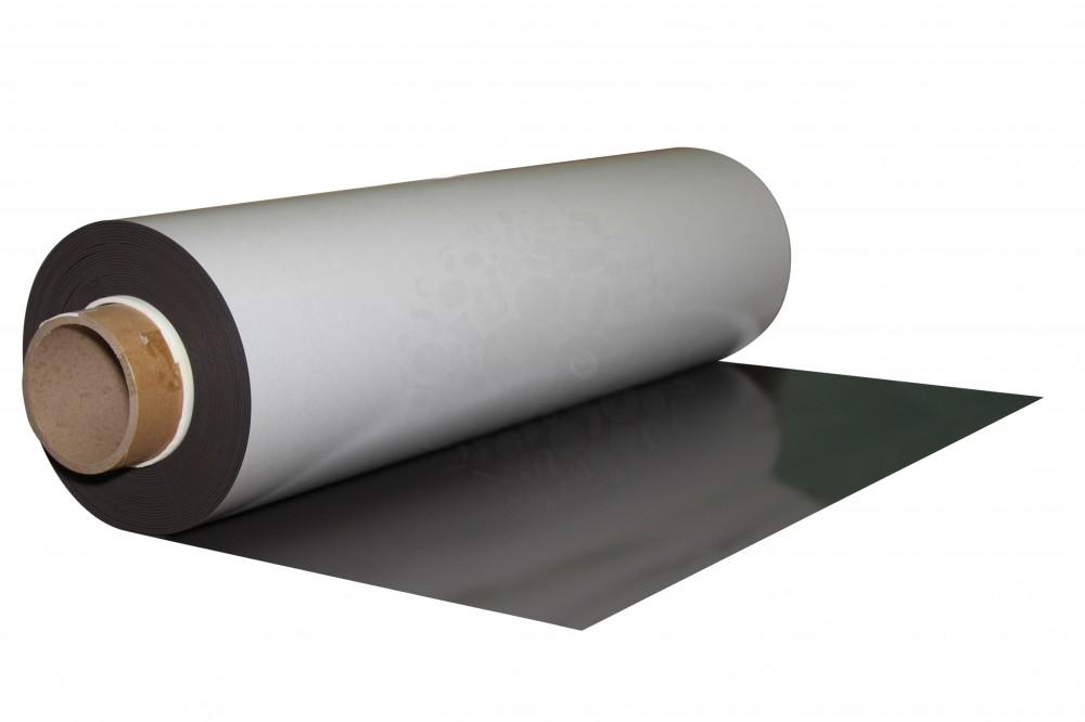 Магнитный винил с клеевым слоем 0.62 x 10 м, толщина 2.0 мм в Волгограде