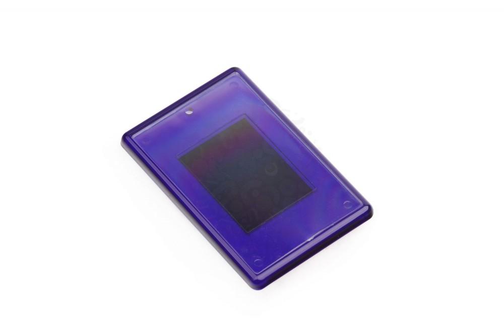 Заготовка акрилового магнита прямоугольная 52х77 мм, синяя в Астрахани