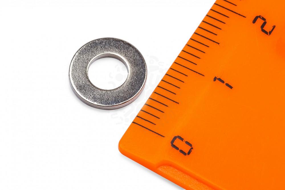 Неодимовый магнит кольцо 10х5х1 мм в Астрахани
