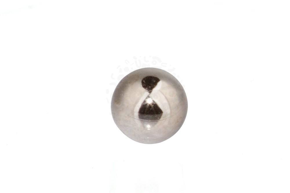 Неодимовый магнит шар 2,5 мм, стальной в Москве