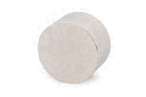 Неодимовый магнит диск 50x30 мм, N45 в Воронеже