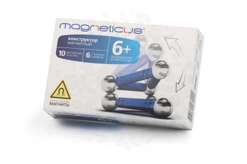 Конструктор Magneticus 16 элементов (синий) в Уфе
