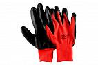 Перчатки нейлоновые, с нитриловым покрытием, черные, 3 пары Forceberg Home&DIY