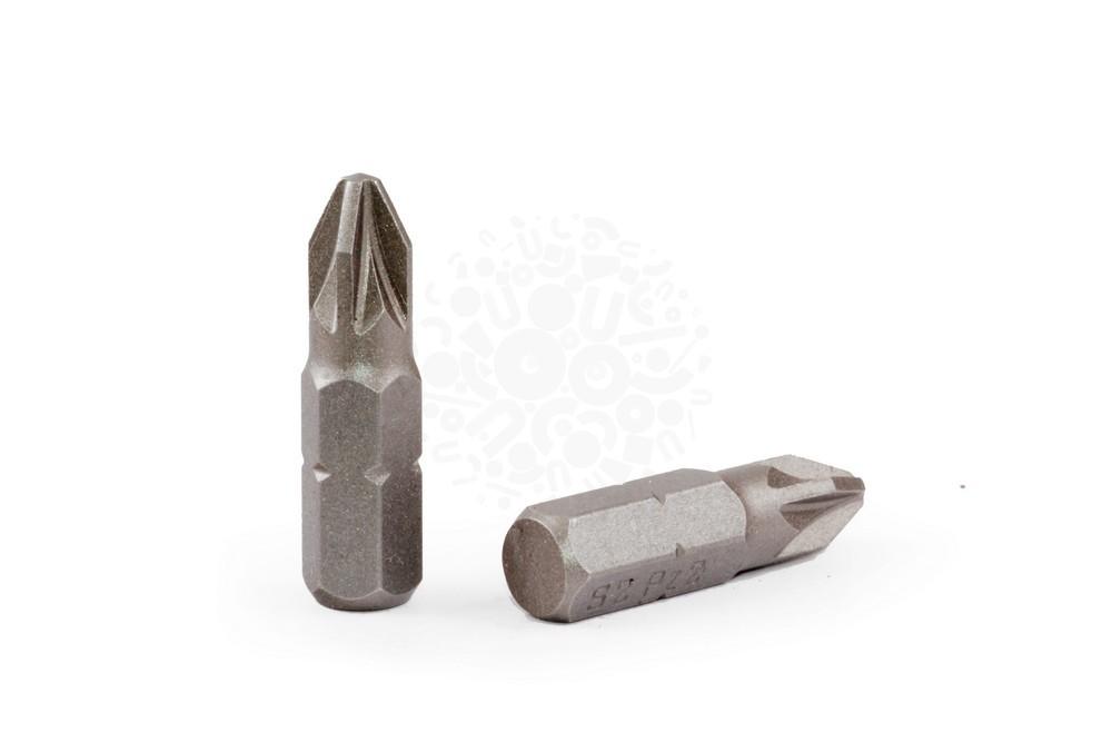 Набор бит для ударного шуруповерта PZ2, 25 мм, 15 шт в Воронеже