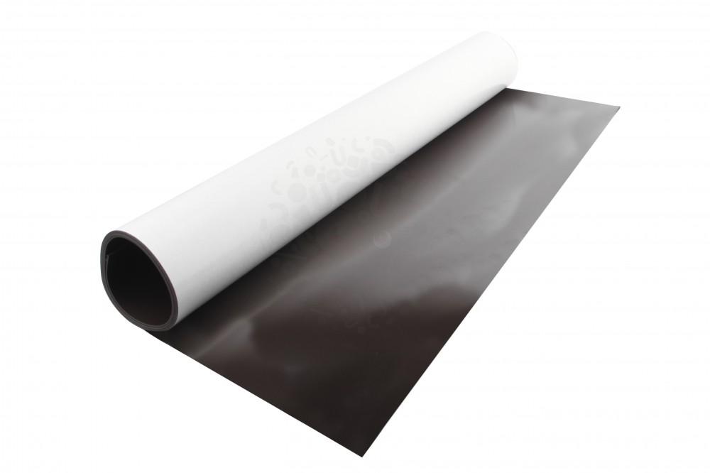 Магнитный винил с клеевым слоем, лист 0.62х1 м, толщина 0.9 мм в Саратове