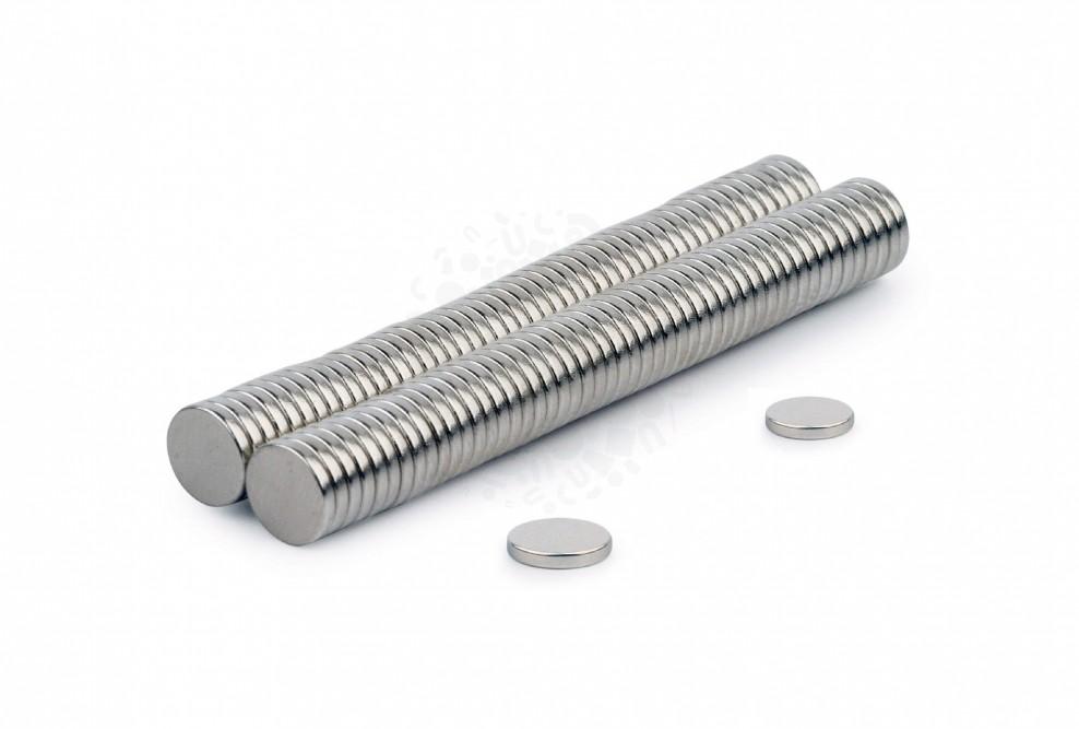 Неодимовый магнит диск 6х1 мм