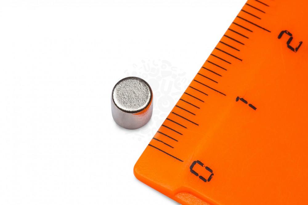 Неодимовый магнит диск 5х5 мм в Севастополе
