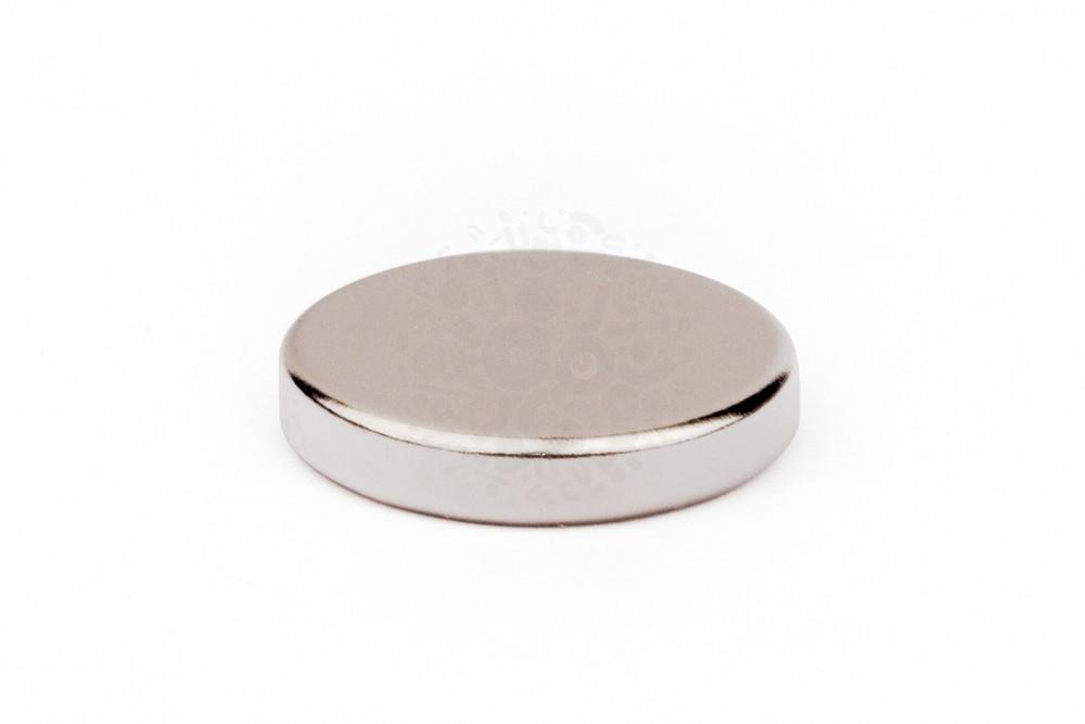 Неодимовый магнит диск 27х5 мм, N35 в Иваново