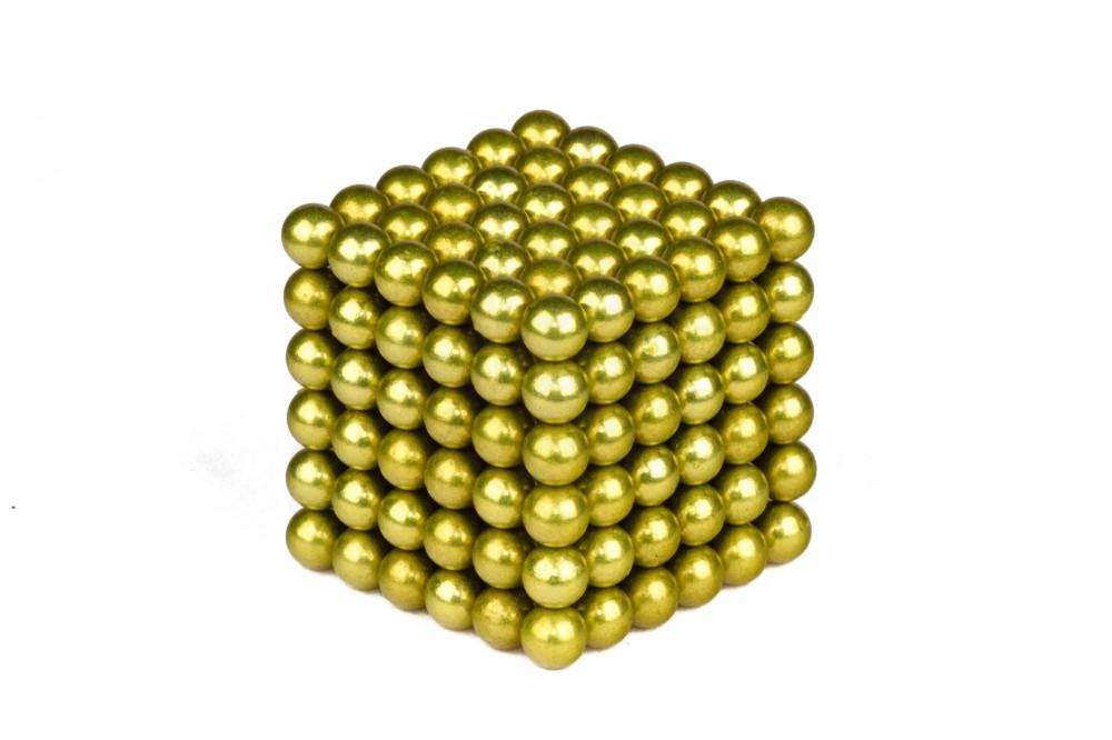 Forceberg Cube - куб из магнитных шариков 6 мм, оливковый, 216 элементов в Москве