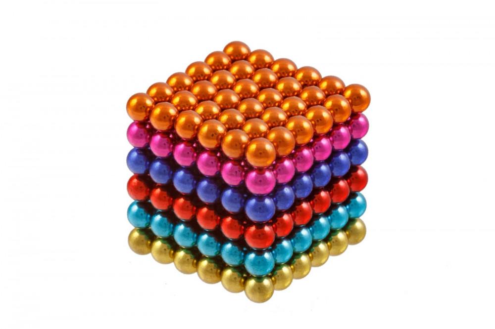 Forceberg Cube - куб из магнитных шариков 6 мм, цветной, 216 элементов в Саратове