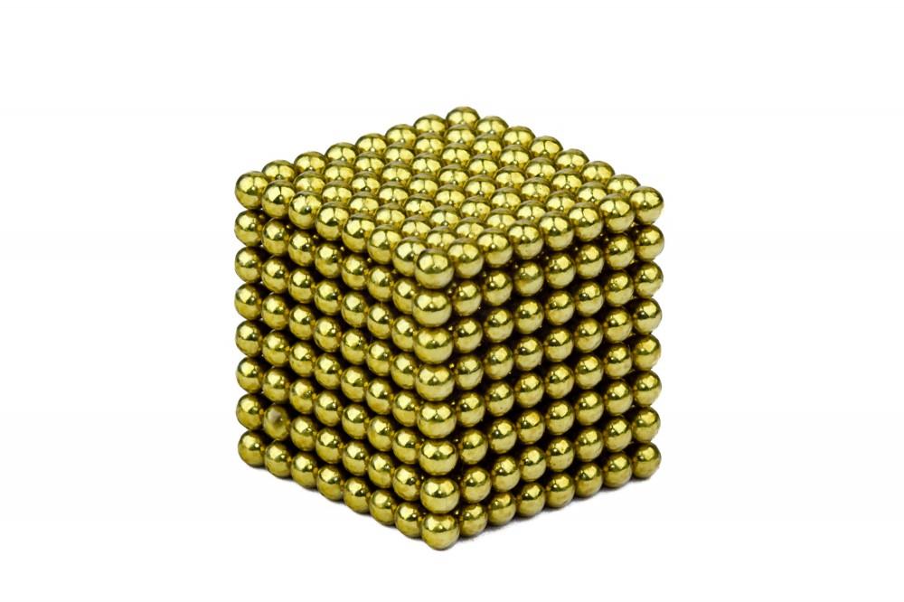 Forceberg Cube - куб из магнитных шариков 2,5 мм, оливковый, 512 элементов в Москве
