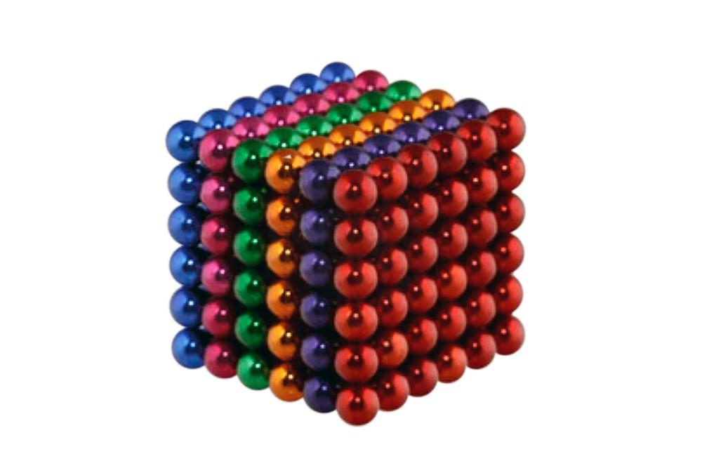 Forceberg Cube - куб из магнитных шариков 5 мм, цветной, 216 элементов в Москве
