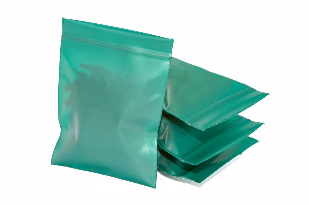 Упаковочные цветные зип пакеты Forceberg HOME & DIY с замком zip-lock 6х7 см, зеленый, 50 шт в Саратове