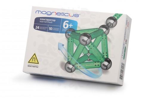 Конструктор Magneticus 34 элемента (зеленый) в Уфе