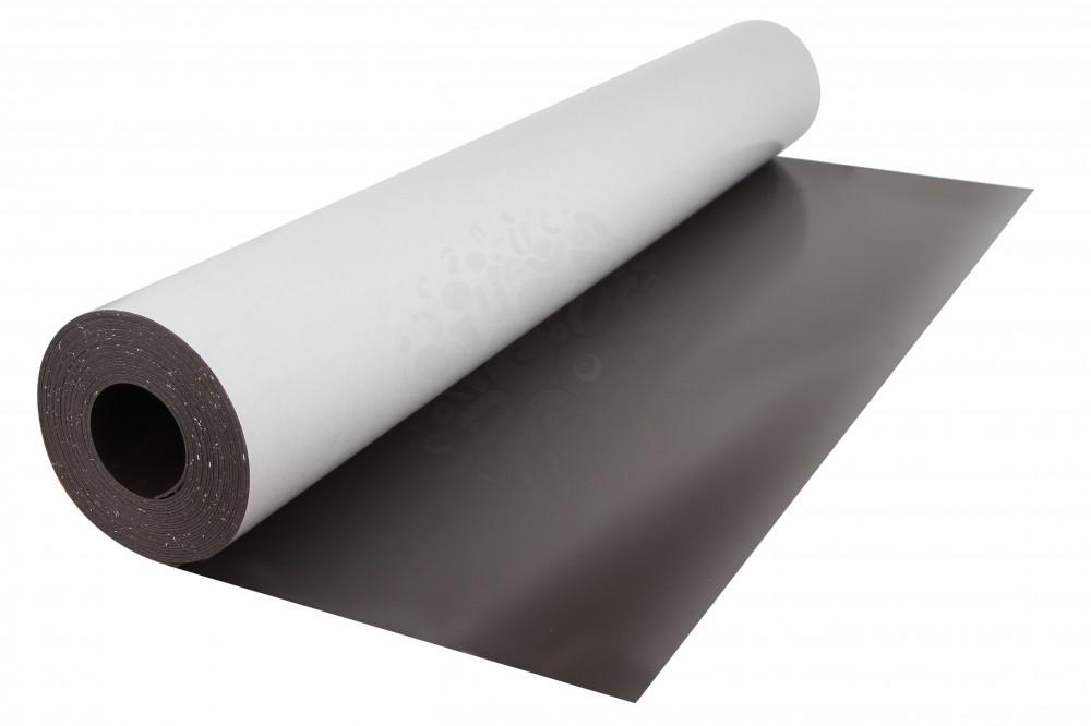 Магнитный винил с клеевым слоем, лист 0.62х5 м, толщина 0.9 мм в Саратове