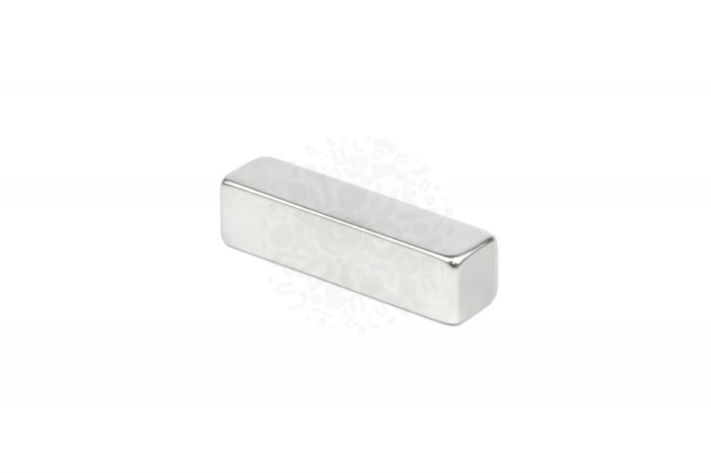Неодимовый магнит прямоугольник 40х10х10 мм, N35 в Ижевске