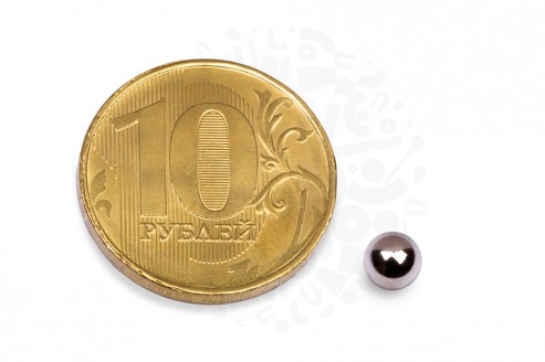 Неодимовый магнит шар 7 мм в Воронеже