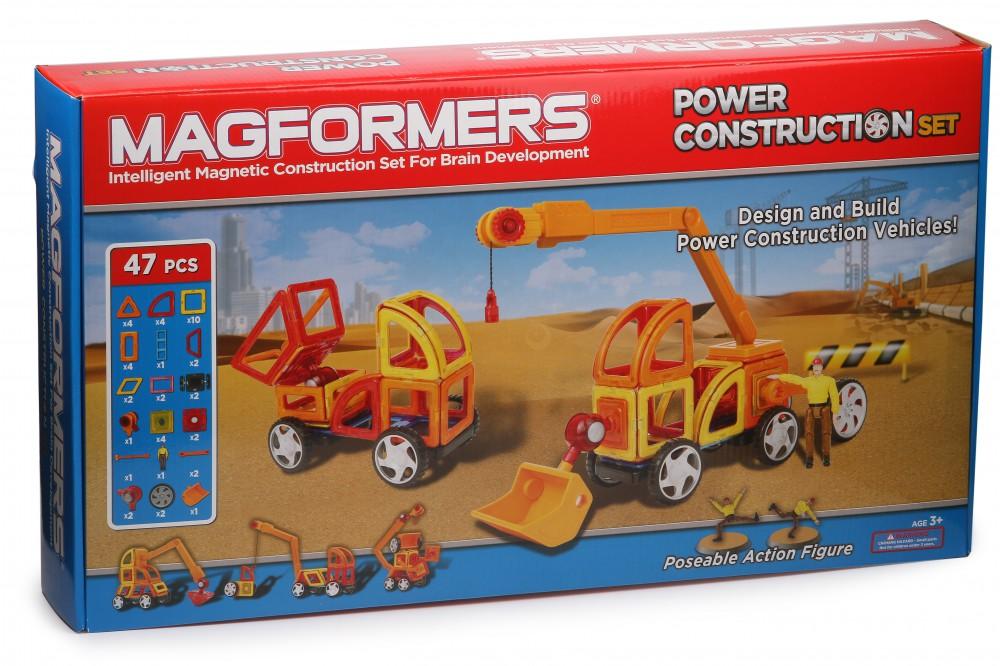 Конструктор Magformers Power Construction Set в Новосибирске