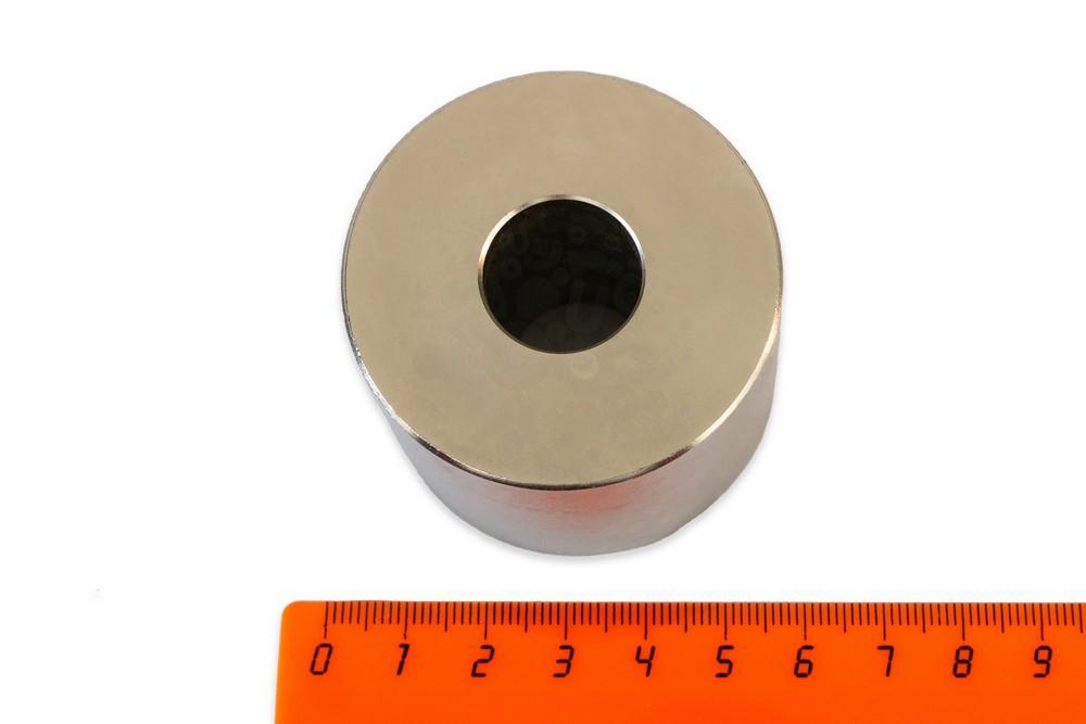 Неодимовый магнит кольцо 50х18х40 мм, диаметральное в Саранске