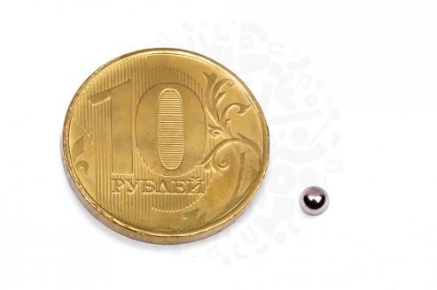 Неодимовый магнит шар 3 мм в Самаре