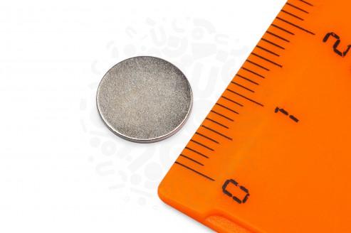Неодимовый магнит диск 10х0.7 мм в Воронеже