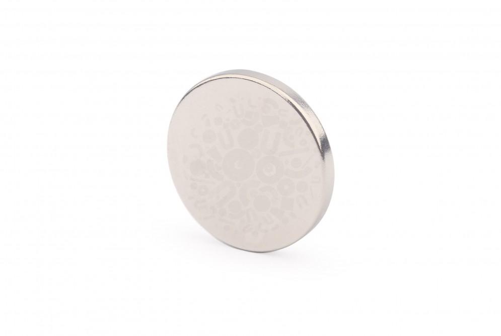 Неодимовый магнит диск 25х3 мм в Белгороде