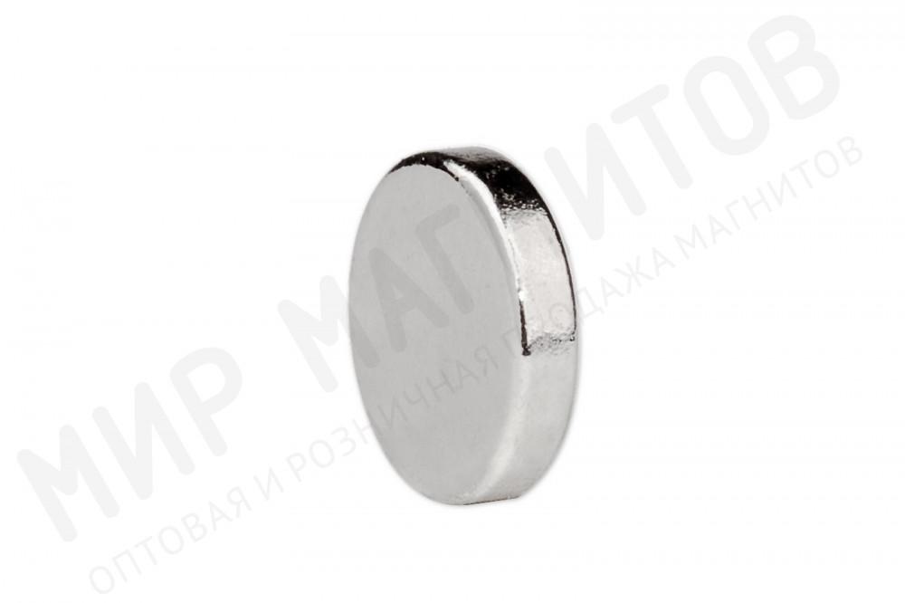Неодимовый магнит диск 5х1 мм, марка N52, 200 шт, Forceberg в Самаре