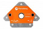 Усиленный магнитный уголок для сварки и монтажа конструкций для 3 углов Forceberg, усилие до 50 кг