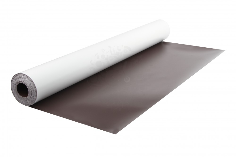 Магнитный винил с ПВХ слоем, лист 0.62х5 м, толщина 0.5 мм в Курске
