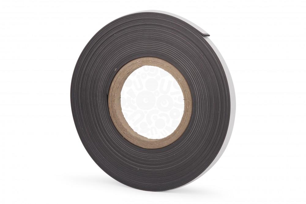 Магнитная лента 12.7 мм, рулон 10м c клеевым слоем в Курске