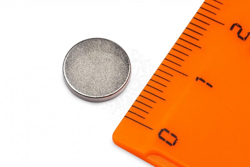 Неодимовый магнит диск 10х1.5 мм в Москве