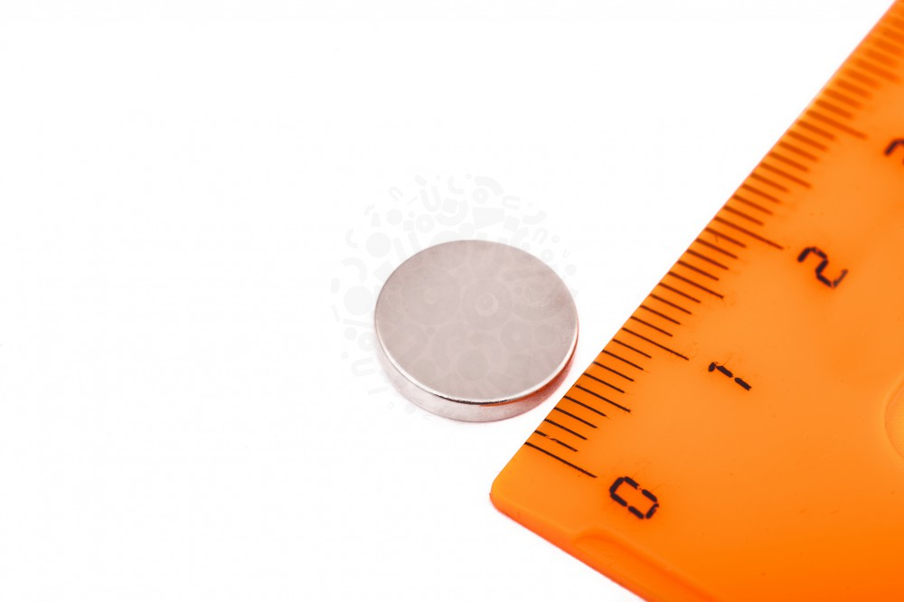 Неодимовый магнит диск 12х2 мм в Саратове
