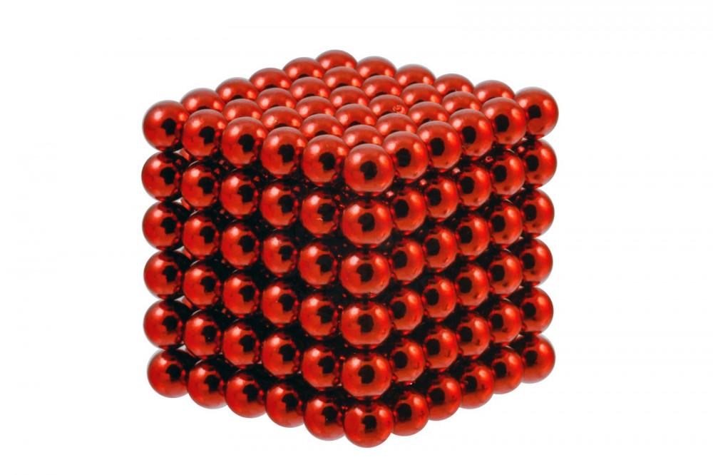 Forceberg Cube - куб из магнитных шариков 6 мм, красный, 216 элементов в Москве