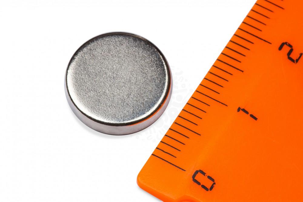 Неодимовый магнит диск 13х3 мм в Курске