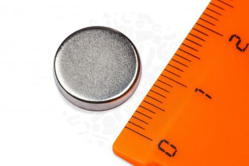 Неодимовый магнит диск 13х3 мм в Самаре