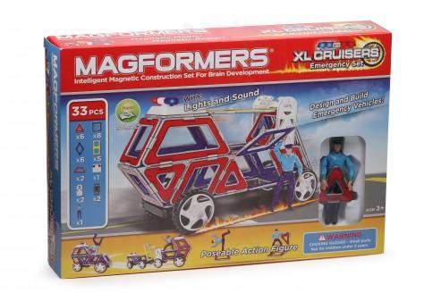 Конструктор Magformers XL Cruisers Служба спасения в Уфе