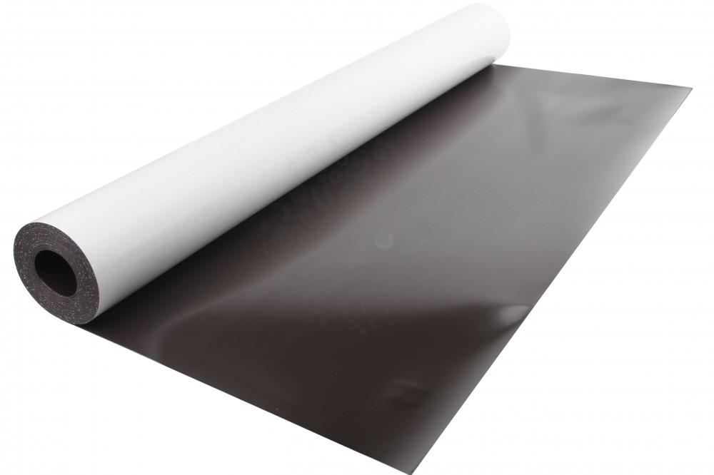 Магнитный винил с клеевым слоем, лист 0.62х5 м, толщина 0.4 мм в Барнауле