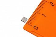 Неодимовый магнит прямоугольник 3х3х1 мм (N52)