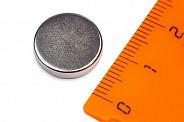 Неодимовый магнит диск 14х3 мм