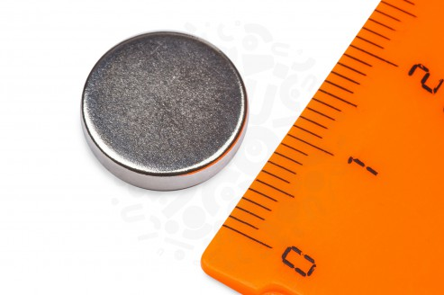 Неодимовый магнит диск 14х3 мм в Москве