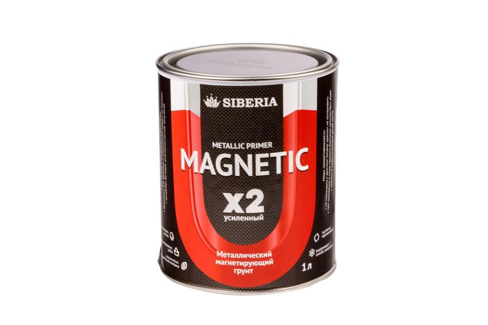 Магнитная краска Siberia 1 литр, на 2 м² в Курске