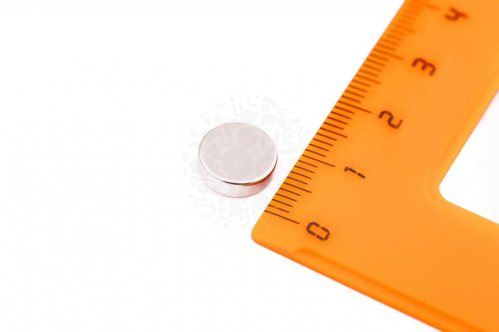 Неодимовый магнит диск 10х3 мм в Краснодаре