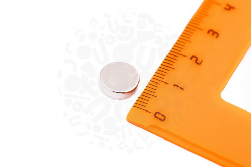 Неодимовый магнит диск 10х3 мм в Москве