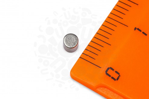 Неодимовый магнит диск 3х2 мм в Москве
